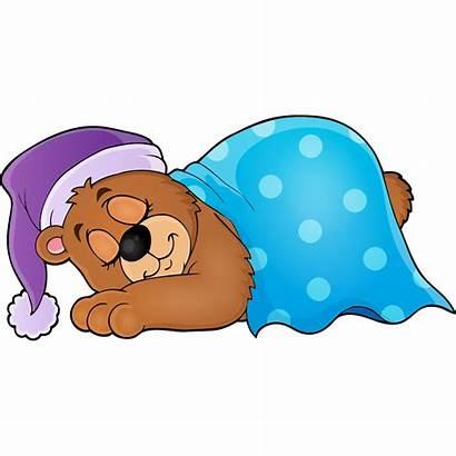 Bear Sleeping Clipart Sleep Schedule Transparent Clip