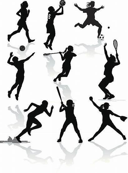 Softball Volleyball Basketball Soccer Lacrosse Vector Female
