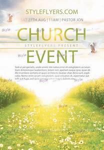 church event psd flyer template 10705 styleflyers With free flyer templates for church events