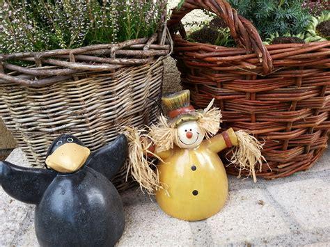 Herbst Deko Garten by Herbstdeko Ideen Kreativ Bunt Den Garten Dekorieren