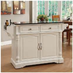 white kitchen island granite top view white granite top kitchen cart deals at big lots