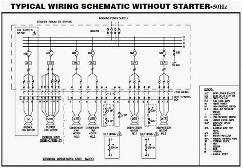 package ac wiring diagram wiring diagram and schematic