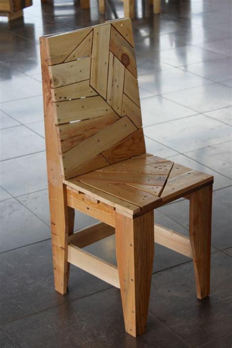 Chaise Design En Palettes Recyclées  Les Meubles En