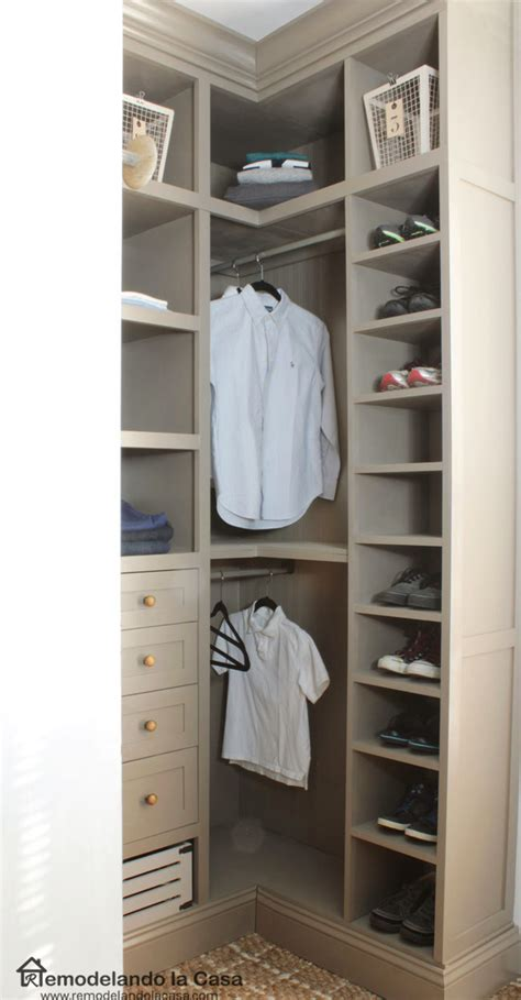 Small Closets by Diy Small Closet Makeover The Reveal Remodelando La Casa