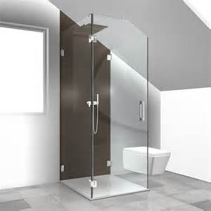 unter 100 wohnideen sonderlösungen duschabtrennung dachgeschoss duschabtrennung