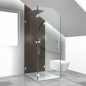 Glasscheibe Für Dusche : sonderl sungen duschabtrennung dachgeschoss duschabtrennung ~ Lizthompson.info Haus und Dekorationen