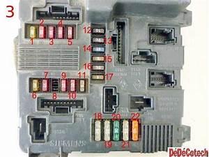Pompe Lave Glace Megane 1 Phase 2 : fusibles compartiment moteur renault m gane et sc nic 2 phase 1 ~ Gottalentnigeria.com Avis de Voitures