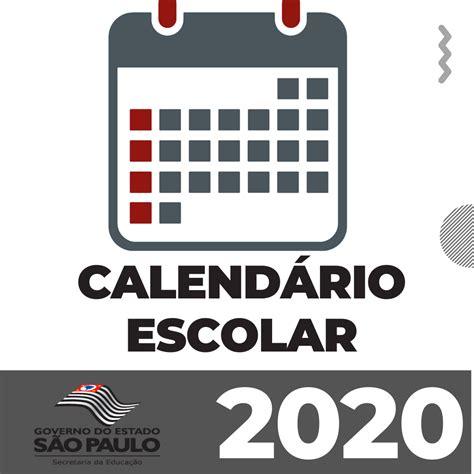Calendário Escolar 2020 Seducsp Orientações E Datas