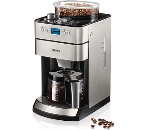 kaffeemaschine philips grind brew kaffeemaschine hd7740 00 philips