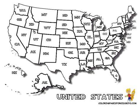 map  united states  print  kids letter enclosures