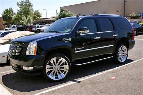 Future Cadillac Escalade by Dub Future Black Machined Wheels On 2014 Cadillac Escalade