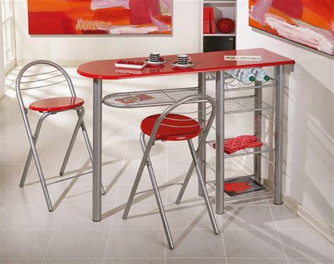 Table Pour Cuisine - ensemble table bar 2 tabourets brigitte