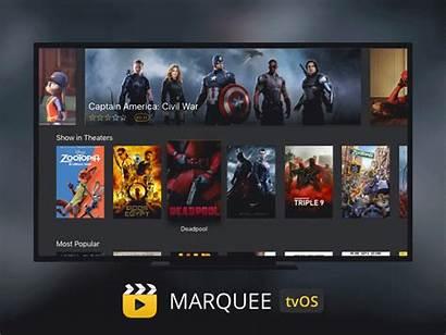 Tv Apple App Movies Tvos Trailers Icon