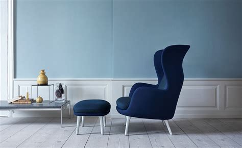 ro lounge chair  ottoman hivemoderncom