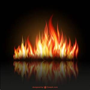 Fire flames illustration Vector | Free Download