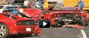 Video: 8 Ferraris, 3 Benzs and a Lambo involved in a 14 ...