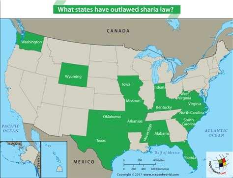 What States Have Outlawed Sharia Law? Answers