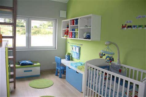 chambre bebe verte decoration chambre nature vert design de maison