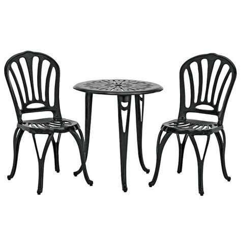 garden oasis cac 228 cast iron bistro set sears outlet