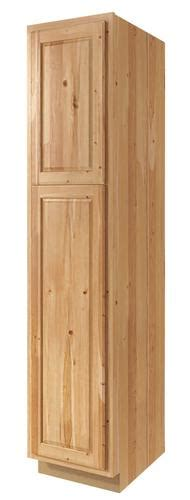 kitchen cabinet drawers value choice 24 quot thunder bay hickory standard 2 door 2484