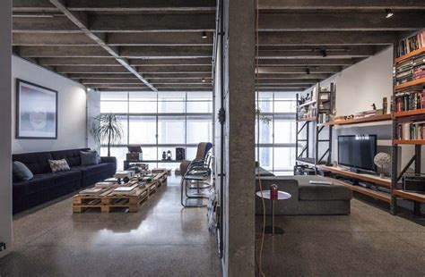 Copan Apartment Eine Moderne Loft Wohnung In Brasillien by An Industrial Modern Renovation Of A S 227 O Paulo Apartment