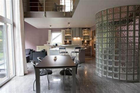 vitre separation cuisine meuble separation cuisine casavog sparation entre la cuisine et le