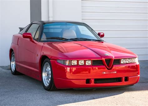 Alfa Romeo Sz by 1991 Alfa Romeo Sz For Sale On Bat Auctions Sold For