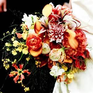 fall wedding flowers whimsical fall wedding bouquet wedding flowers photos brides