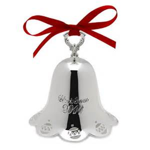 2015 towle annual bell christmas ornament silver superstore