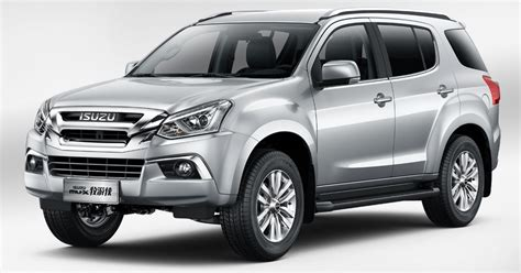 Isuzu Picture by 2018 Isuzu Mu X Debuts In China With New Interiors Autodevot