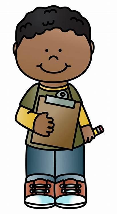 Clipboard Clipart Brown Kid Child Transparent Webstockreview