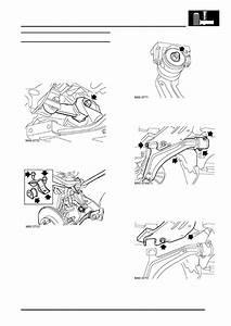 Land Rover Workshop Manuals  U0026gt  Freelander Service Procedures  U0026gt  Front Suspension  U0026gt  Repairs  U0026gt  Rear Beam