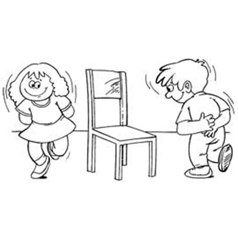jeu des chaises musicales mariage petits jeux d intérieur anniversaire enfant