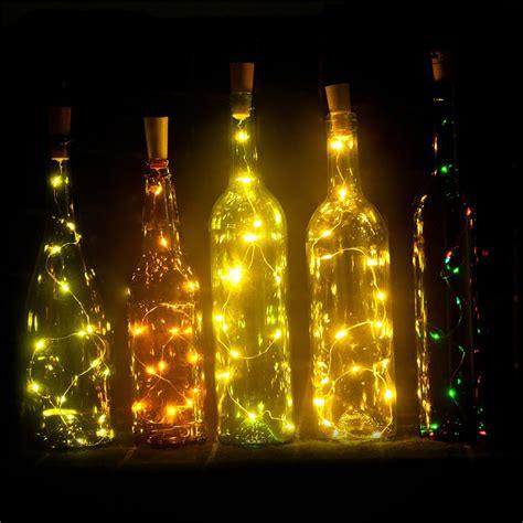 2m 20 led led bottle wine cork string lights christmas