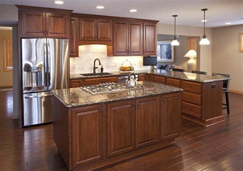 project feature apple valley kitchen remodel cherry wood