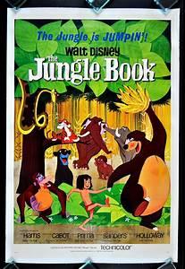 THE JUNGLE BOOK * CINEMASTERPIECES 1SH ORIGINAL MOVIE POSTER 1967 DISNEY