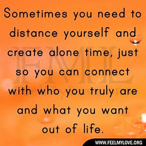 Distance Yourself Quotes. QuotesGram