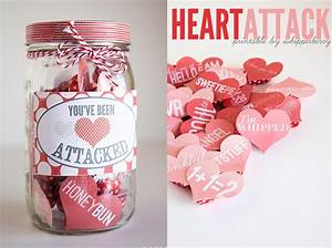 70 DIY Valentine's Day Gifts & Decorations Made From Mason ...
