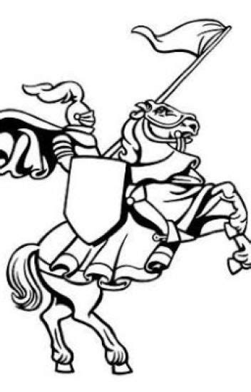 Knight Clipart Black And White | Free download best Knight