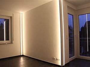 Led Indirektes Licht : led wohnraumbeleuchtung pollicht design ~ Sanjose-hotels-ca.com Haus und Dekorationen