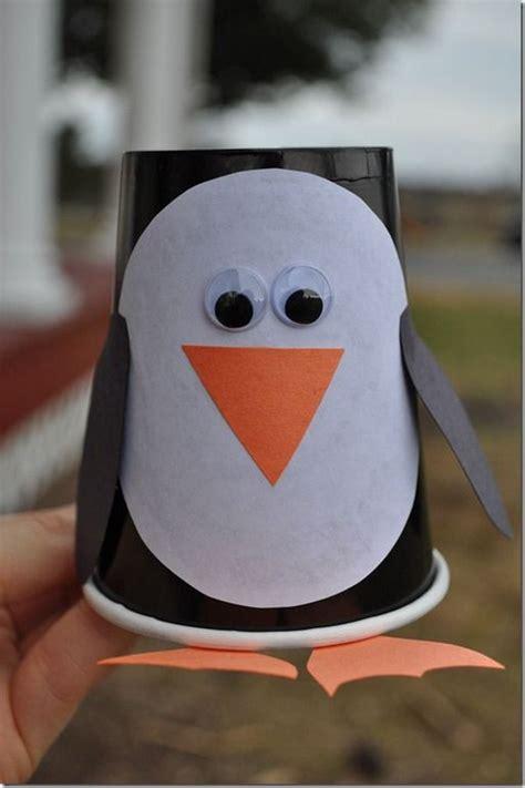cute christmas penguin crafts  kids