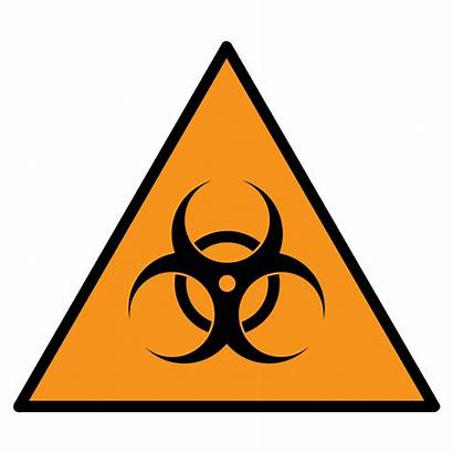 Biohazard Symbol Sign Printable Vector Pc Orange