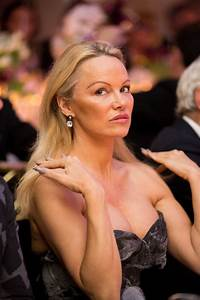PAMELA ANDERSON at 40th Best Award Gala in Paris 01/27 ...