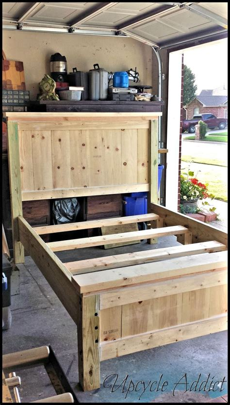 How To Build A Queen Size Wood Headboard Woodworking