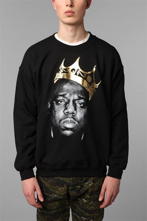 biggie smalls sweater biggie king of nyc pullover sweatshirt outfitters