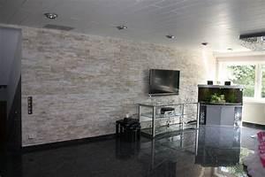 Natursteinfliesen Wand Wohnzimmer : natursteinwand wandverblender verblender riemchen ~ Sanjose-hotels-ca.com Haus und Dekorationen