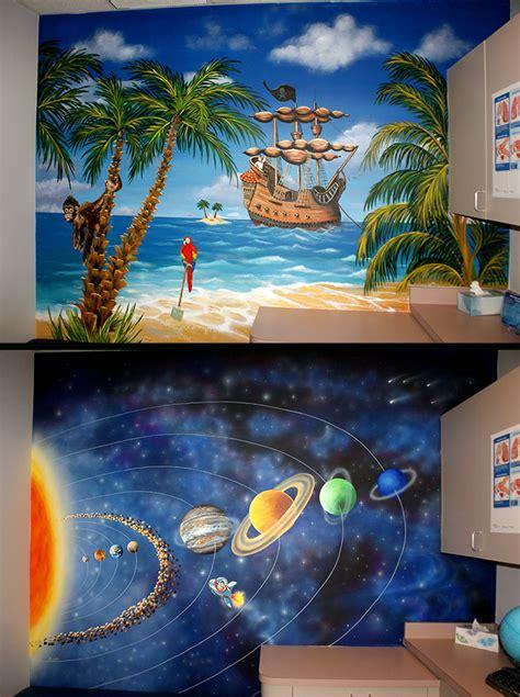 kids theme room murals mural photo album  skywoods