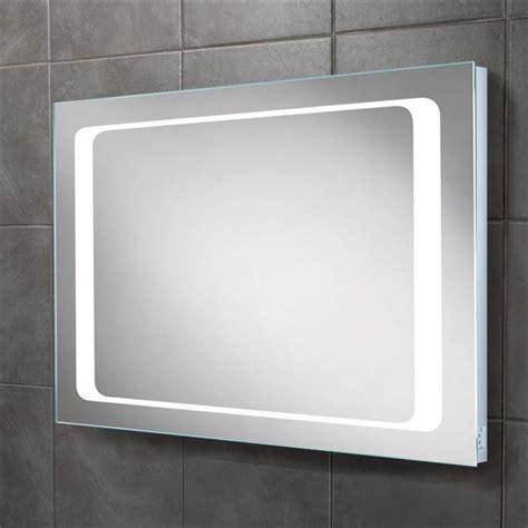 hib axis led backlit bathroom mirror w800 x h600mm
