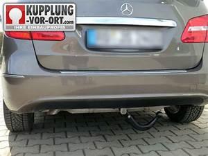 Anhängerkupplung Mercedes C Klasse : schwenkbare anh ngerkupplung f r die neue b klasse ~ Jslefanu.com Haus und Dekorationen