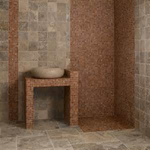 Carrelage Opus Gris by Dalles Carrelage Travertin Gris Opus Romain Indoor By Capri
